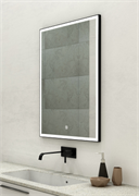 "CONTINENT Зеркало ""Frame Black LED"" c подсветкой"