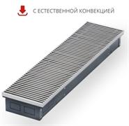 WARMES HAUS Конвектор без вентилятора водяной внутрипольный KWH с решеткой L-4300 мм