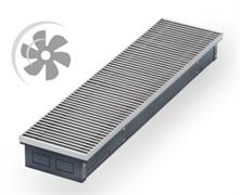 WARMES HAUS Конвектор с вентилятором водяной внутрипольный KWHV с решеткой L-2400 мм