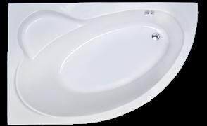 ROYAL BATH Alpine 150х100 Акриловая ванна асимметричная, левая
