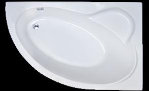 ROYAL BATH Alpine 160х100 Акриловая ванна асимметричная, правая