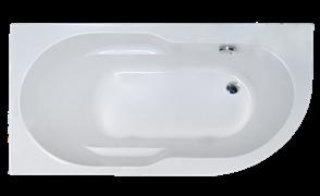 ROYAL BATH Azur 148х79 Акриловая ванна асимметричная, левая