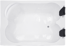 ROYAL BATH Hardon 200х150 Акриловая ванна прямоугольная на каркасе