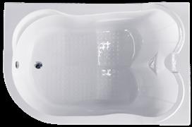 ROYAL BATH Norway 180х120 Акриловая ванна прямоугольная на каркасе, правая
