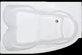 ROYAL BATH Shakespeare 170х110 Акриловая ванна прямоугольная на каркасе, левая