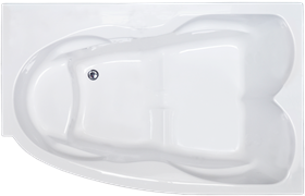 ROYAL BATH Shakespeare 170х110 Акриловая ванна прямоугольная на каркасе, правая