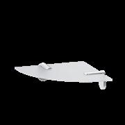 AM.PM X-Joy Угловая стеклянная полка, 20 см