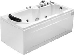 GEMY 172x77 Ванна акриловая гидромассажная, высота 65 см
