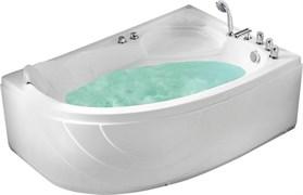 GEMY 150x100 Ванна акриловая гидромассажная, высота 60 см