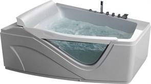 GEMY 170x130 Ванна акриловая гидромассажная, высота 75 см