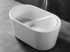 ABBER 130x75 Ванна акриловая, высота 63 см