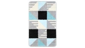 FIXSEN Visa Коврик для ванной, цвет серый / бирюзовый