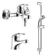 ROSSINKA  Набор смесителей для ванны, цвет хром, поверхность глянцевая