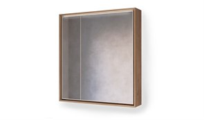 Зеркало RAVAL Frame 75 Дуб трюфель с подсветкой сенсор