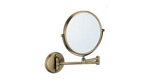 FIXSEN Antik Зеркало косметическое настенное, цвет античная латунь