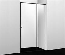 WASSERKRAFT Dill 61S13 Душевая дверь, ширина 110 см, стекло прозрачное 6 мм, профиль черный
