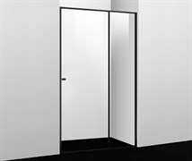 WASSERKRAFT Dill 61S05 Душевая дверь, ширина 120 см, стекло прозрачное 6 мм, профиль черный