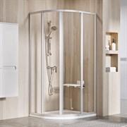 RAVAK SUPERNOVA SKCP4 Душевой уголок полукруглый с раздвижными дверями