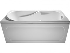 1MARKA Vita Ванна прямоугольная, с рамой и панелью, белая, 150x70