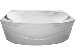 1MARKA Sirakusa Ванна прямоугольная, с рамой и панелью, белая, 190x120