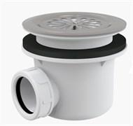 ALCA PLAST Сифон для душевого поддона со сливным отверстием O90 мм, с нержавеющей решеткой, без пробки