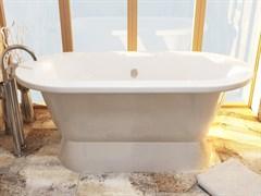 AquaStone Венеция Ванна из литьевого мрамора, размер 175х80 см, высота - 63 см, глубина - 46 см
