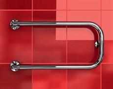 """P-1 1/4"""" DVEEN (ДВИН) Полотенцесушитель модель P, труба из нержавеющей стали, водяной"""