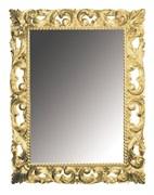 BOHEME Зеркало прямоугольное, золото, 97х70, массив дерева